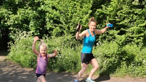 6 year old Alice runs 26 laps for SportInspired